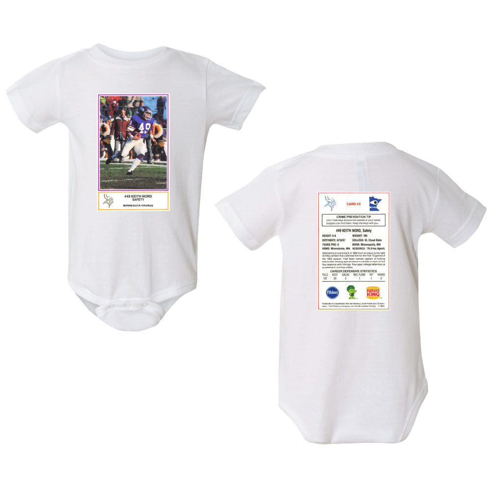 NORD FB CARD Rabbit Skins - Infant Premium Jersey Short Sleeve Bodysuit-ONESIE-Advanced Sportswear