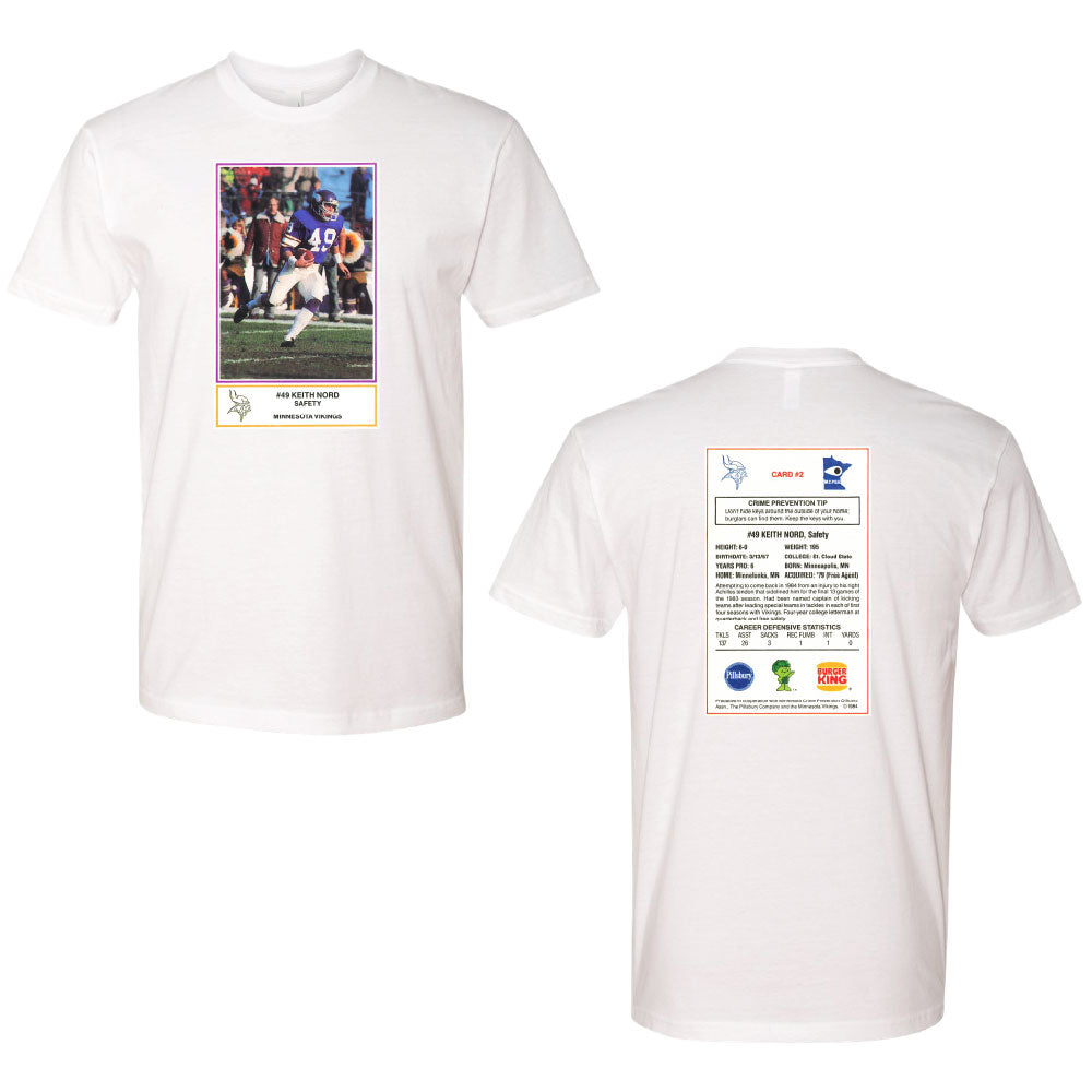 NORD FB CARD Next Level - Cotton Short Sleeve Crew-TShirts-Advanced Sportswear