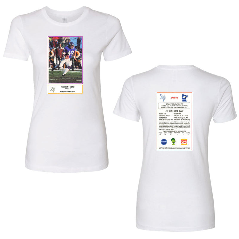NORD FB CARD Next Level - Women's Cotton Short Sleeve Boyfriend Crew-Ladies-Advanced Sportswear