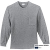 PORT & CO L/S POCKET TSHIRT - Advanced Sportswear Inc, - Newport, MN