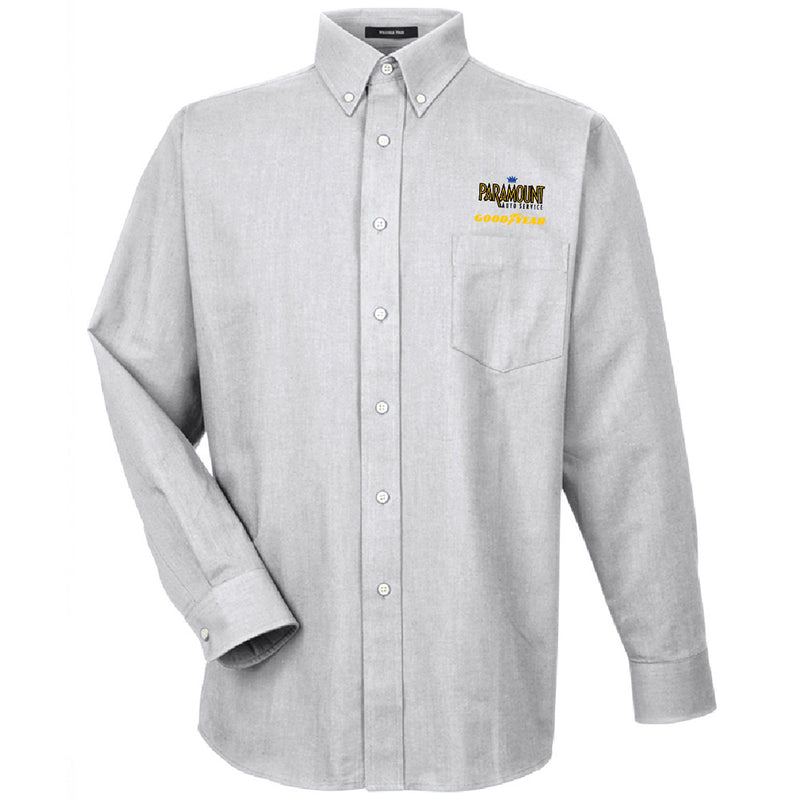 PARAMOUNT - UltraClub Men's Classic Wrinkle-Resistant Long-Sleeve Oxford-Long Sleeve-Advanced Sportswear