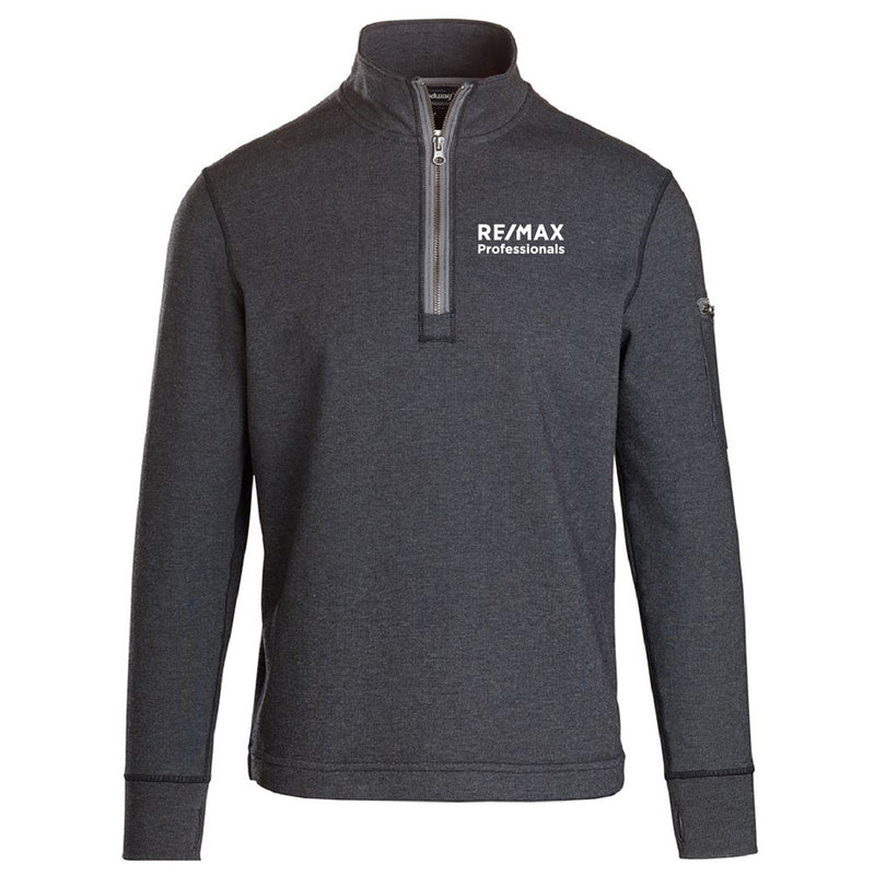 REMAX MENS CITY LUX MASON LONG SLEEVE 1/4 ZIP-Long Sleeve-Advanced Sportswear