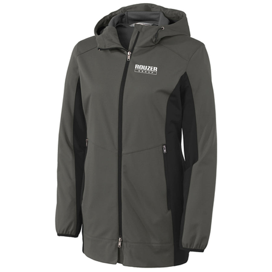 ROUZER  -Ladies Hooded Softshell Jacket - Advanced Sportswear Inc, - Newport, MN