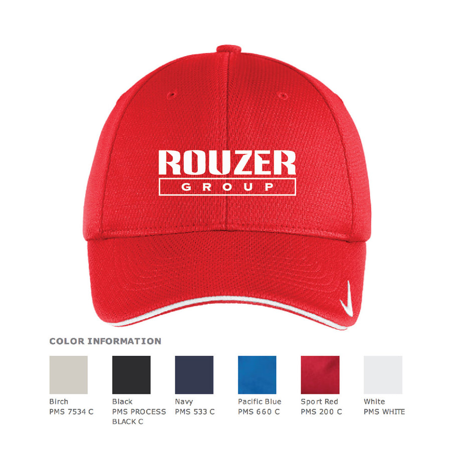 Rouzer Nike Dri-Fit Mesh Sandwich Cap - Advanced Sportswear Inc, - Newport, MN