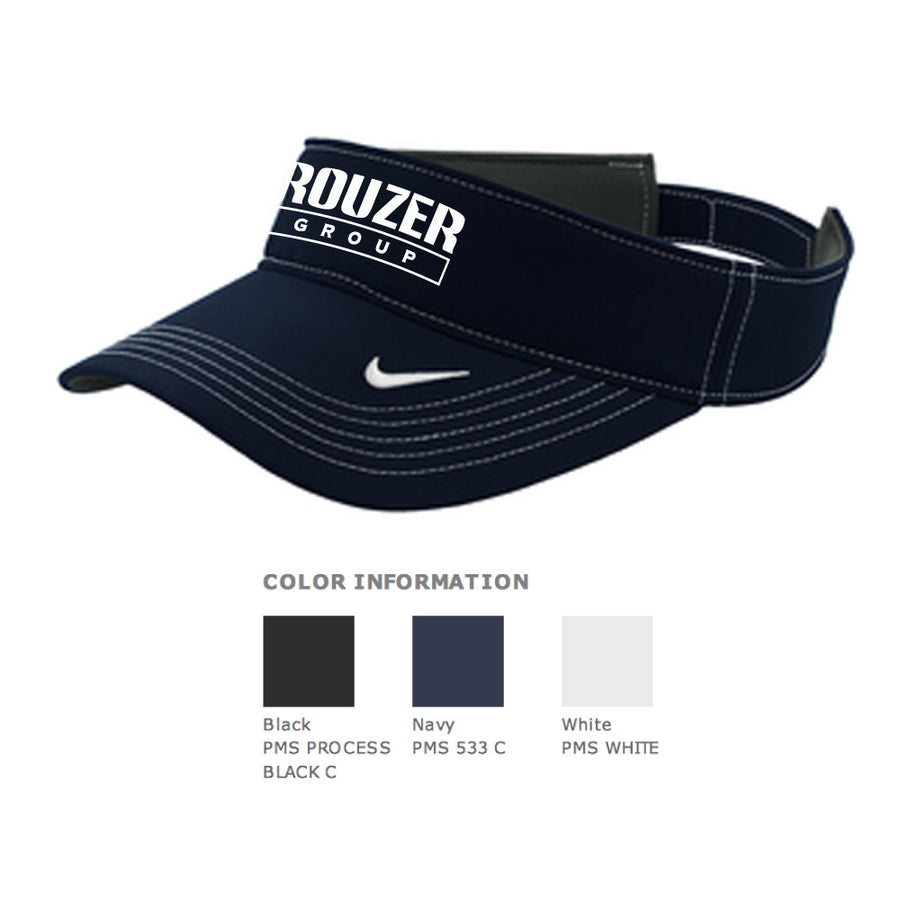 Rouzer Nike Dri-Fit Swoosh Visor - Advanced Sportswear Inc, - Newport, MN