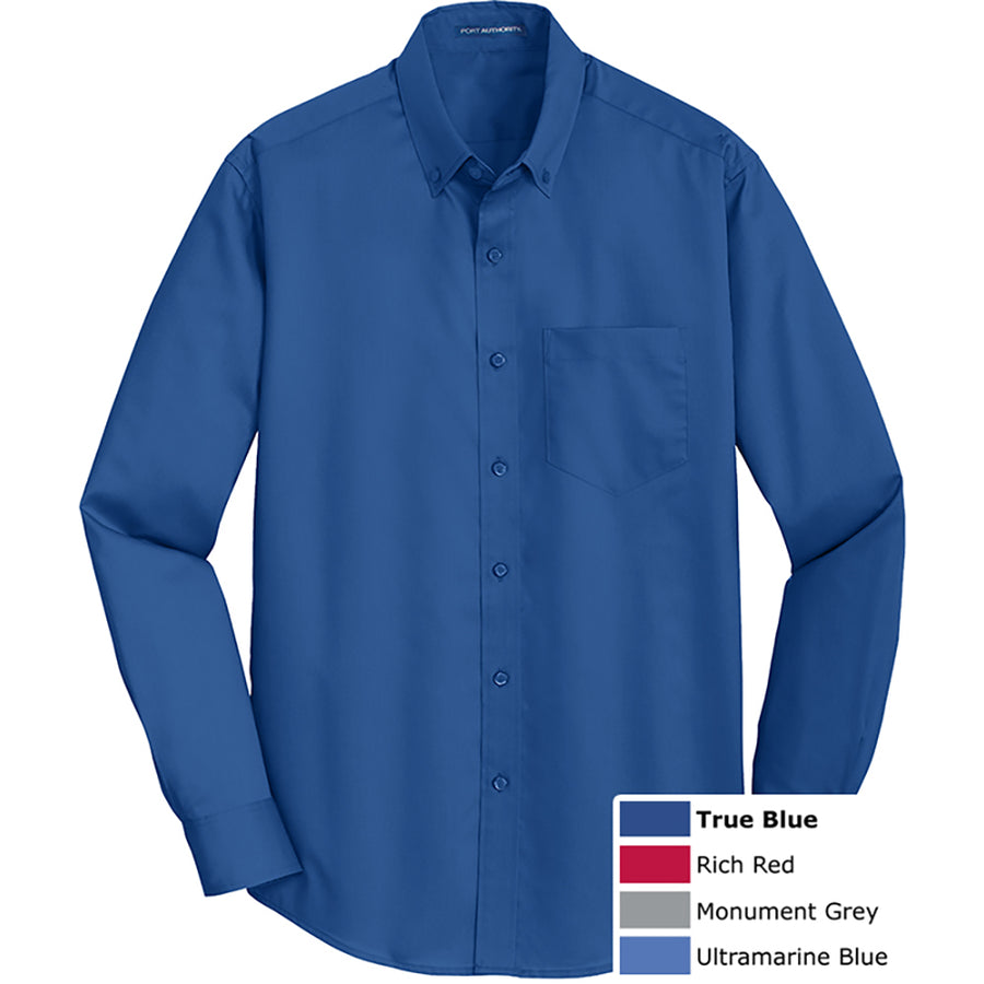 PORT AUTH EASY CARE TWILL SHIRT - Advanced Sportswear Inc, - Newport, MN