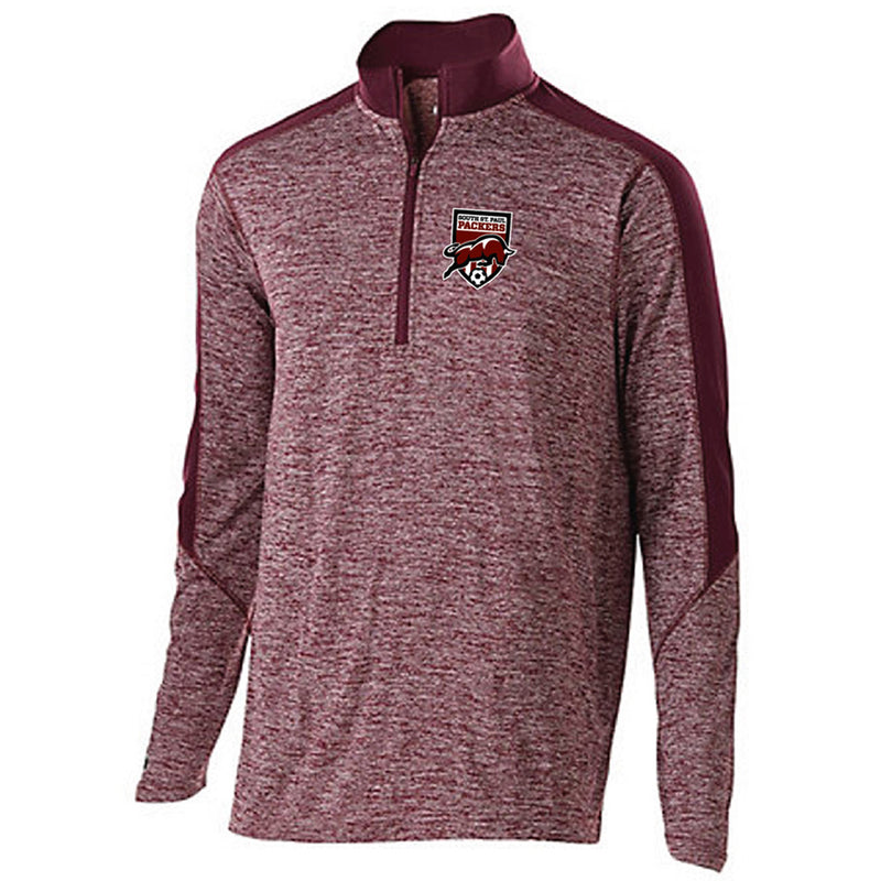 SSP SOCCER - ELECTRIFY 1/2 ZIP PULLOVER-performance-Advanced Sportswear