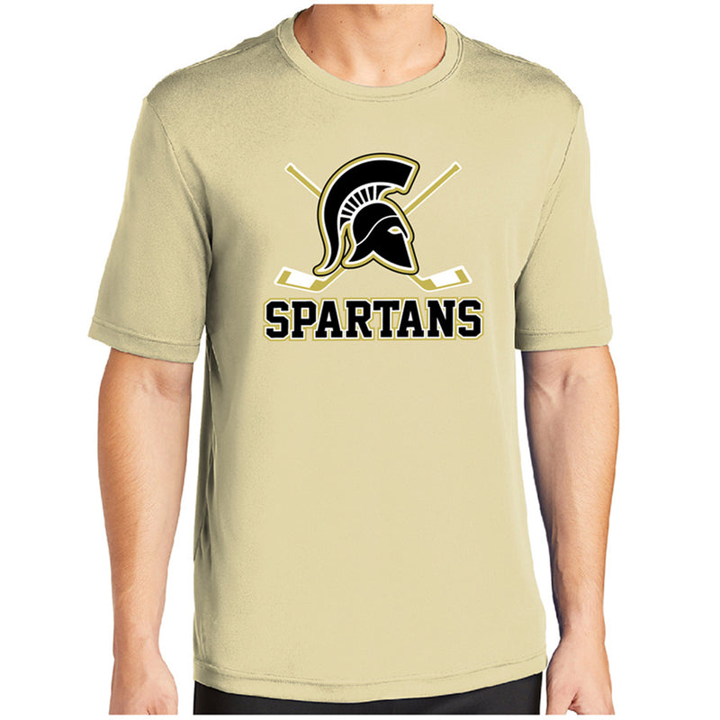 AHA SPARTANS Sport-Tek® PosiCharge® Competitor™ Tee-performance-Advanced Sportswear
