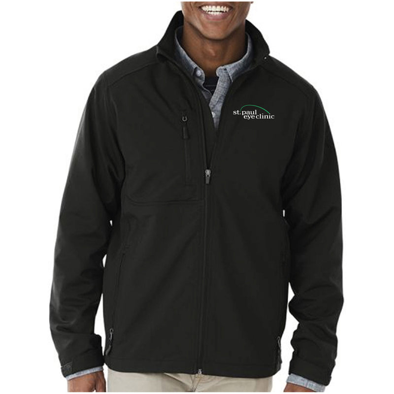 SPEC - CHARLES RIVER MEN'S AXIS SOFT SHELL JACKET-Outerwear-Advanced Sportswear