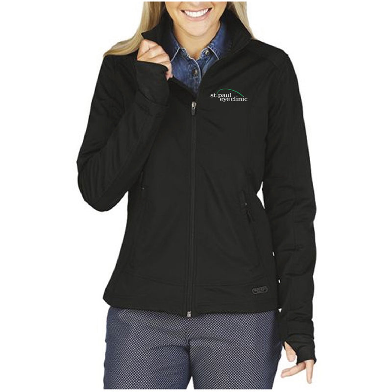 SPEC - CHARLES RIVER WOMEN'S AXIS SOFT SHELL JACKET-Outerwear-Advanced Sportswear