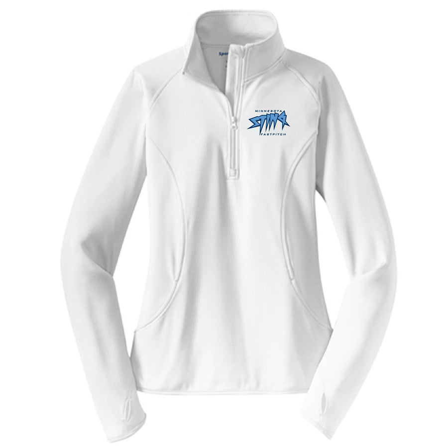 MN Sting Ladies Performance 1/4 Zip - Advanced Sportswear Inc, - Newport, MN