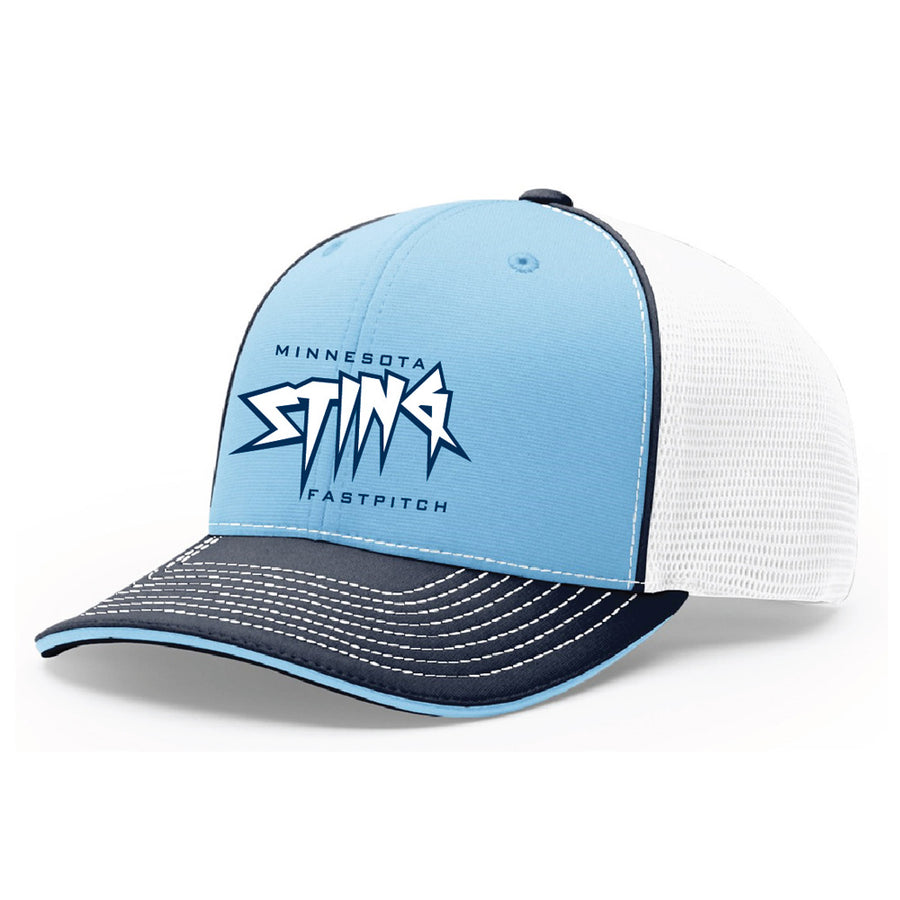 MN Sting Sport Mesh R-Flex Hat - Advanced Sportswear Inc, - Newport, MN