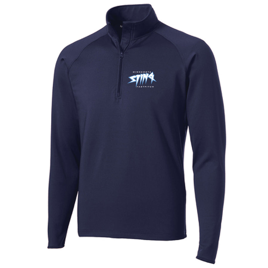 MN Sting Mens Performance 1/4 Zip - Advanced Sportswear Inc, - Newport, MN