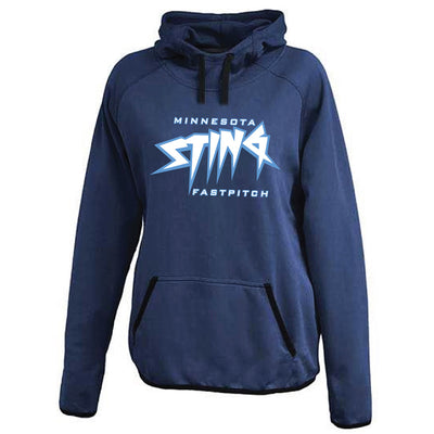 MN Sting Ladies Performance Scuba Hoodie - Advanced Sportswear Inc, - Newport, MN