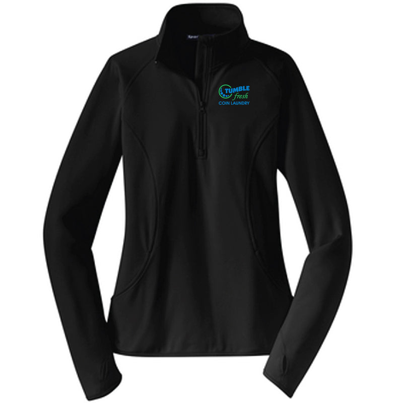TUMBLE FRESH - Sport-Tek® Ladies Sport-Wick® Stretch 1/2-Zip Pullover-Ladies-Advanced Sportswear