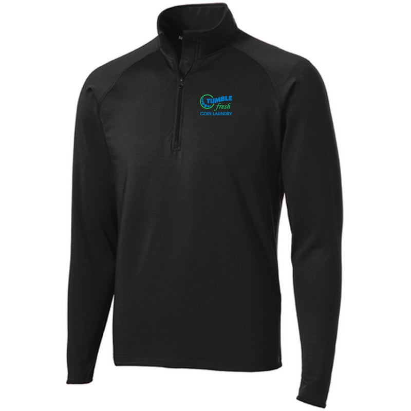 TUMBLE FRESH - Sport-Tek® Sport-Wick® Stretch 1/2-Zip Pullover-Sweatshirt-Advanced Sportswear