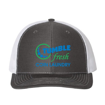 TUMBLE FRESH - SNAP BACK MESH TRUCKER HAT-Headwear-Advanced Sportswear