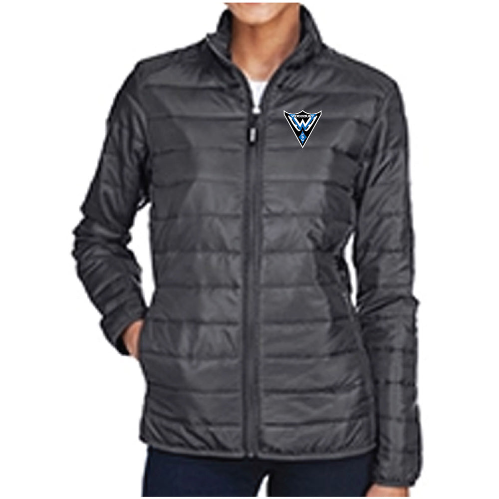 WFS - Core 365 Ladies' Prevail Packable Puffer Jacket-Outerwear-Advanced Sportswear
