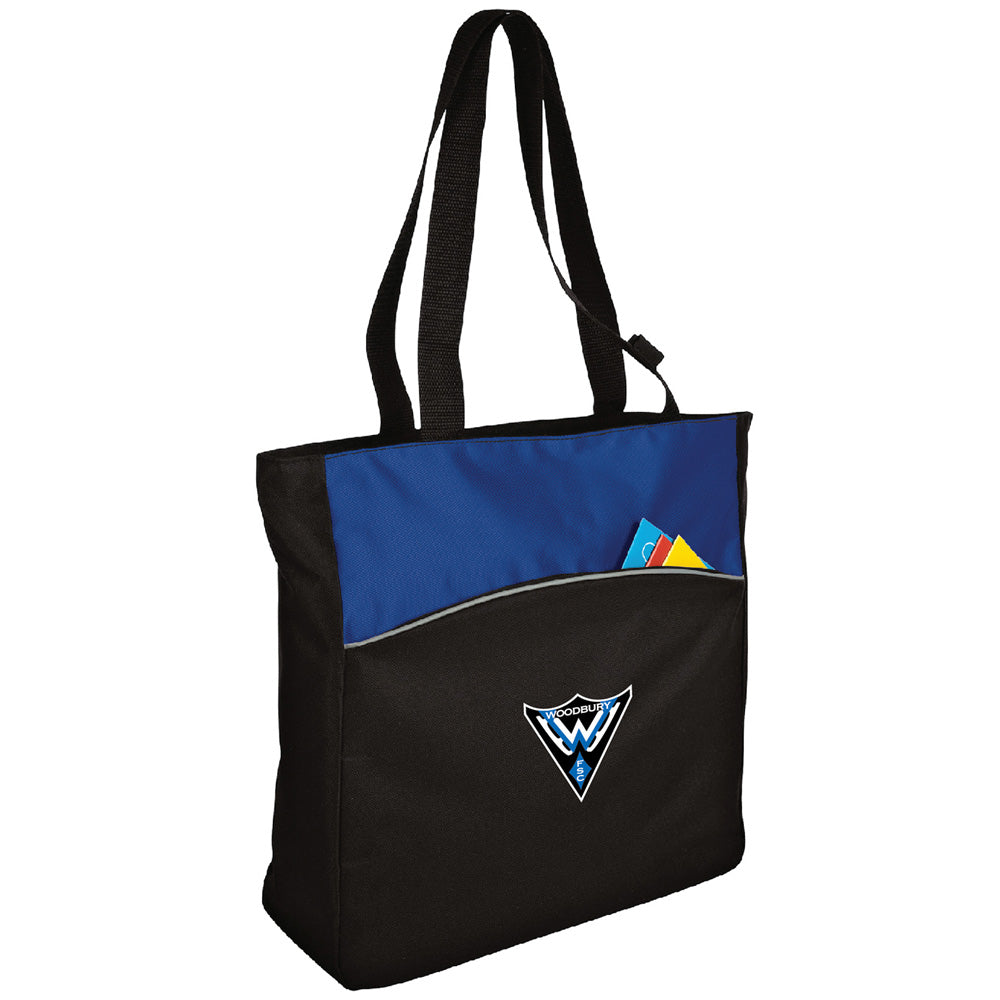 WFS Port Authority® - Two-Tone Colorblock Tote-Bags-Advanced Sportswear