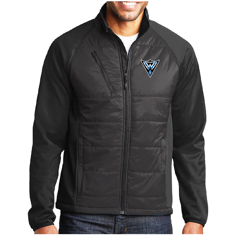 WFS - Port Authority® Hybrid Soft Shell Jacket-Outerwear-Advanced Sportswear