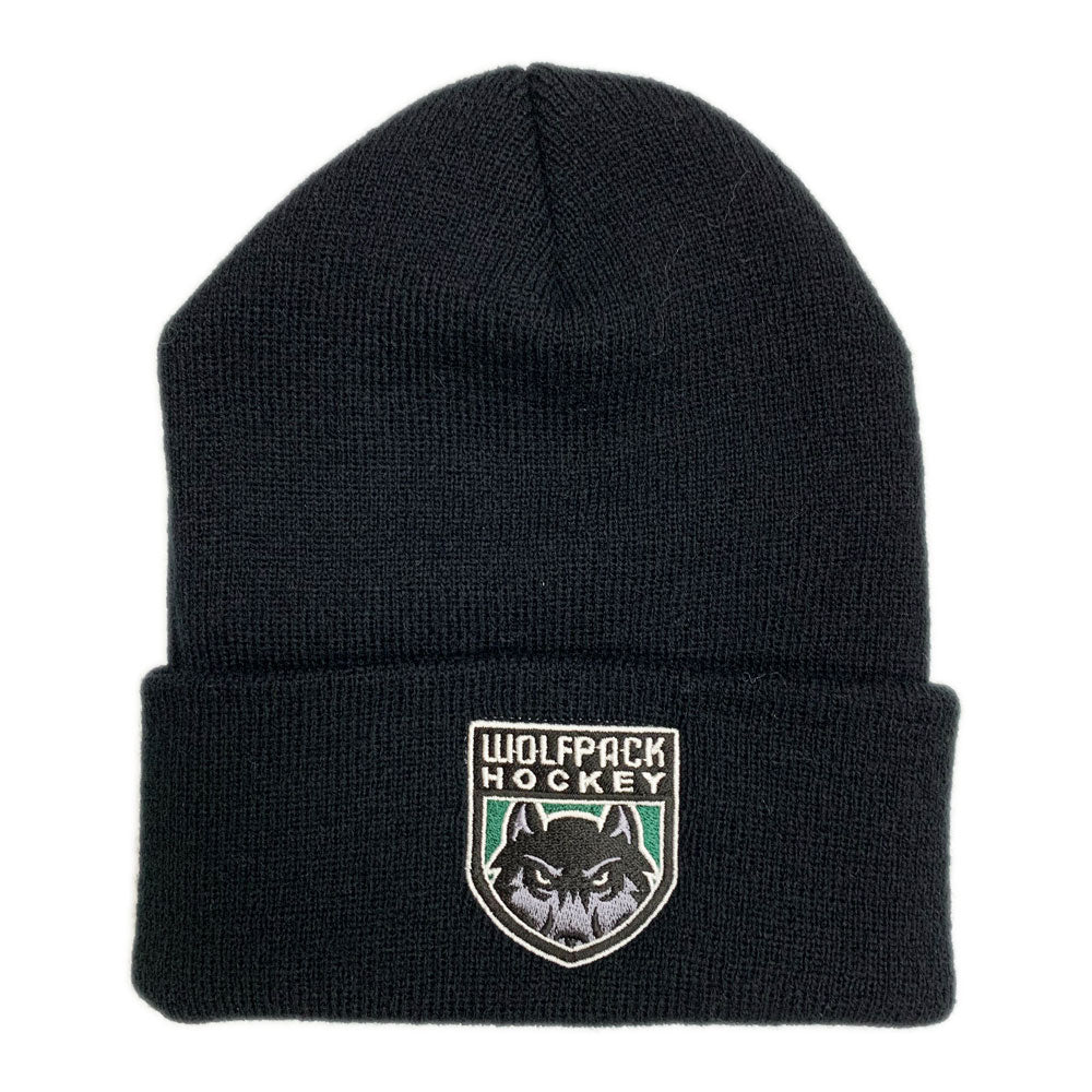 CG Wolfpack Hockey Cuffed Beanie-Hats-Advanced Sportswear