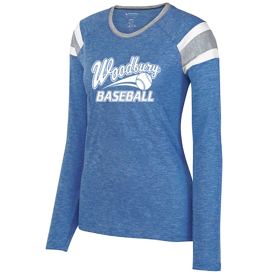 WAA Baseball Ladies L/S Fanatic T
