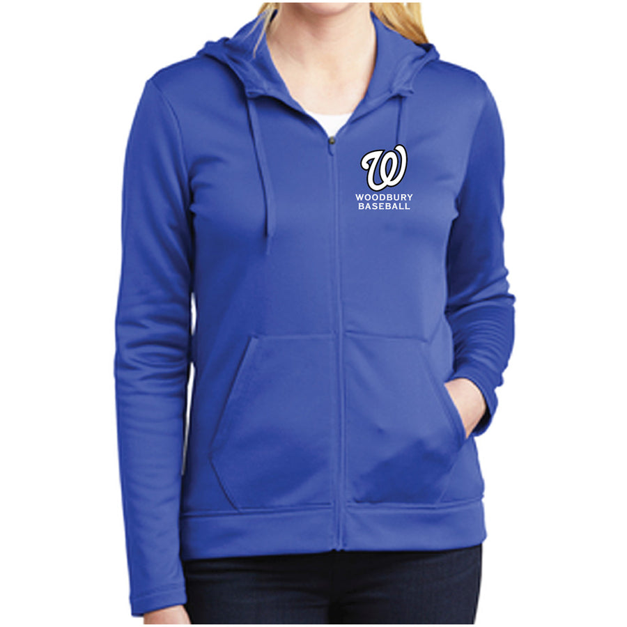 WAA Baseball Ladies Nike Full Zip Fleece
