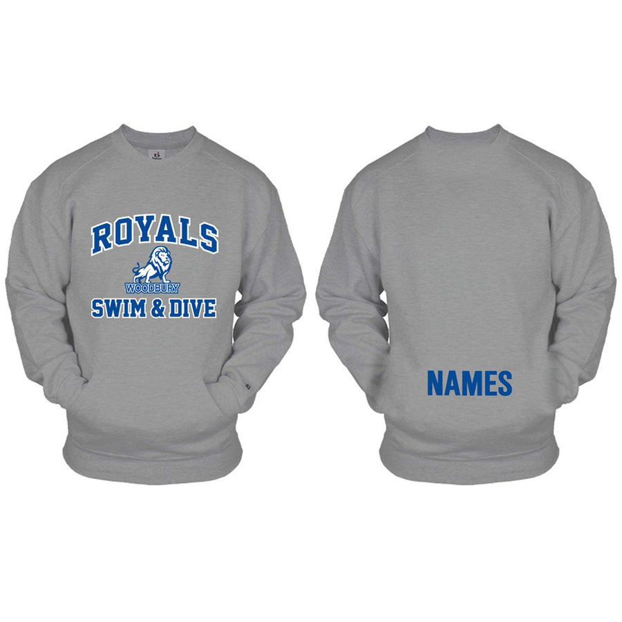 WGSD - Pocket Crewneck Sweatshirt - Advanced Sportswear Inc, - Newport, MN