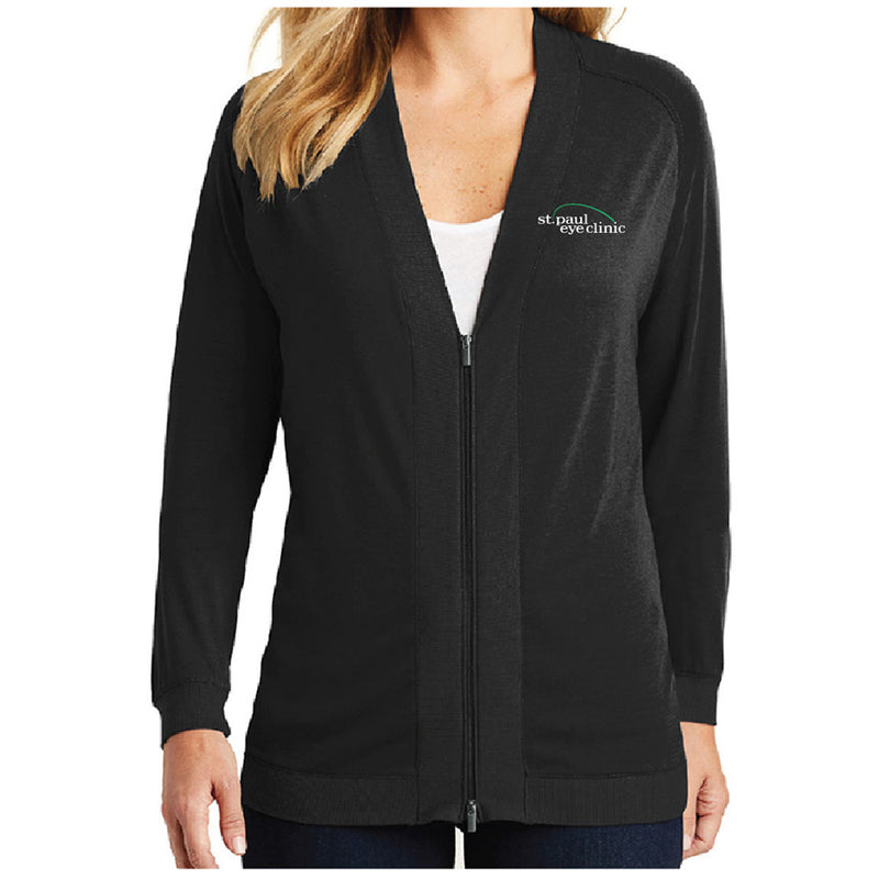 SPEC - Port Authority® Ladies Concept Bomber Cardigan-Ladies-Advanced Sportswear