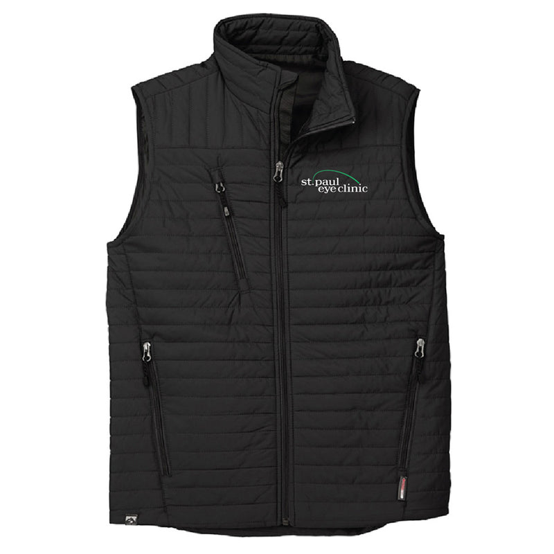 SPEC - STORM CREEK MEN'S FRONT RUNNER ECO-INSULATED QUILTED VEST-Outerwear-Advanced Sportswear