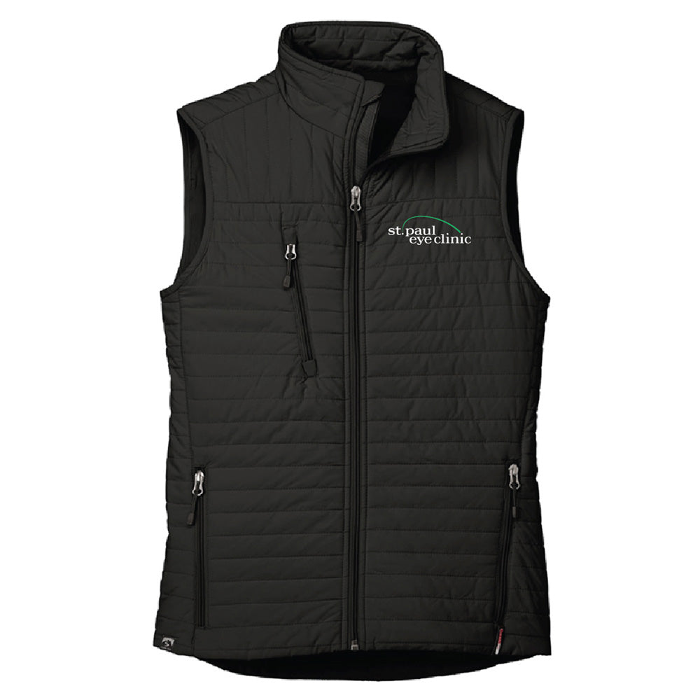SPEC - STORM CREEK WOMEN'S FRONT RUNNER ECO-INSULATED QUILTED VEST-Outerwear-Advanced Sportswear