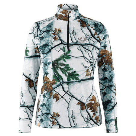 Chandail Chasse pour femme - Winter Camo