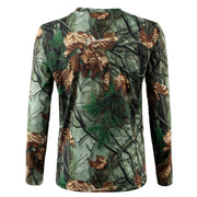 Chandail Chasse manches longues Light-T junior - Late Fall Camo