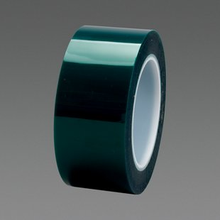 3/4x72YD POLYESTER TAPE GREEN""