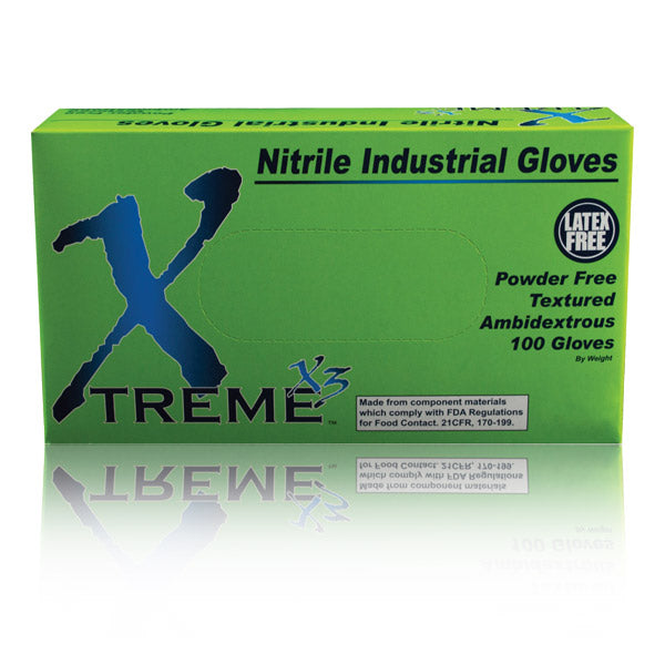Xtreme Disposable Nitrile Gloves Large