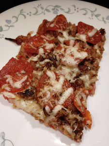 Bacon Weave Crust Pizza