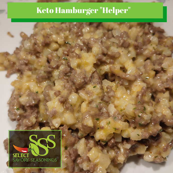 "Keto Hamburger ""Helper"""