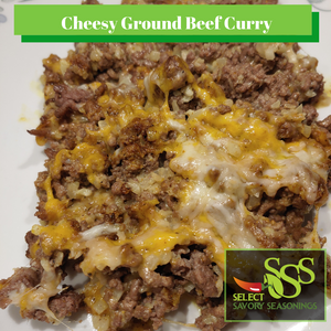 Cheesy Ground Beef Curry