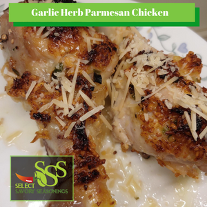 Garlic Herb Parmesan Chicken