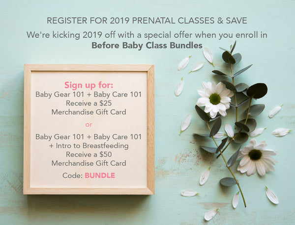 Before Baby Class Bundles - SPECIAL OFFER!