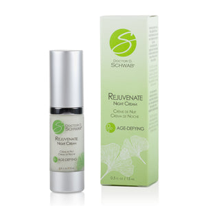 Doctor D. Schwab, Rejuvenate Night Cream 0.5 fl. oz. / 15 ml