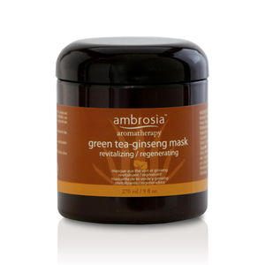 Ambrosia Aromatherapy, Green Tea-Ginseng Mask 9 fl. oz. / 270 ml