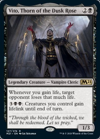Vito, Thorn of the Dusk Rose [Core Set 2021] | Spellbound Games