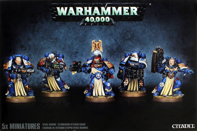 Space Marine Sternguard Veteran Squad  | My Pop Culture | New Zealand