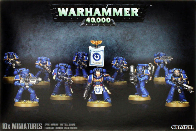 Space Marine Tactical Squad | Spellbound Games