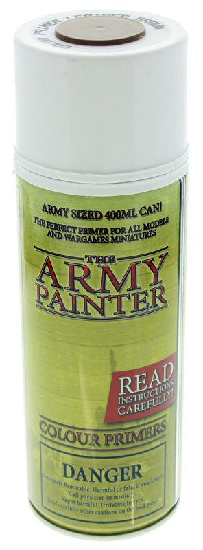 Army Painter Leather Brown Colour Primer | Spellbound Games