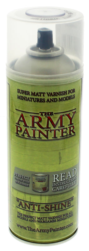 Army Painter Anti Shine Matt Varnish | Spellbound Games