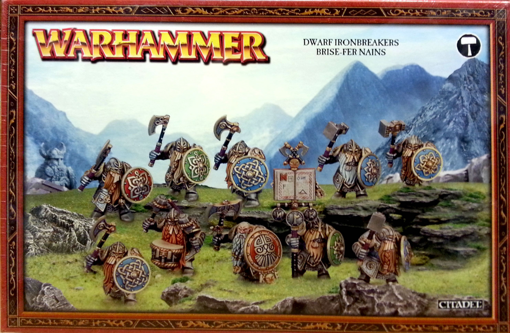 Dwarf Ironbreakers Brise-Fer Nains  | My Pop Culture | New Zealand
