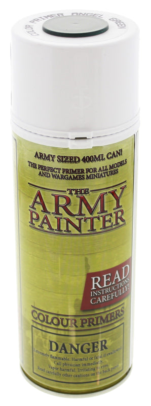 Army Painter Angel Green Colour Primer | Spellbound Games