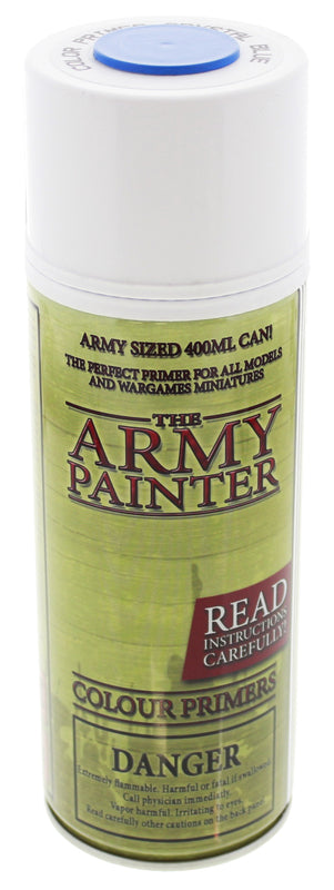 Army Painter Crystal Blue Colour Primer | Spellbound Games